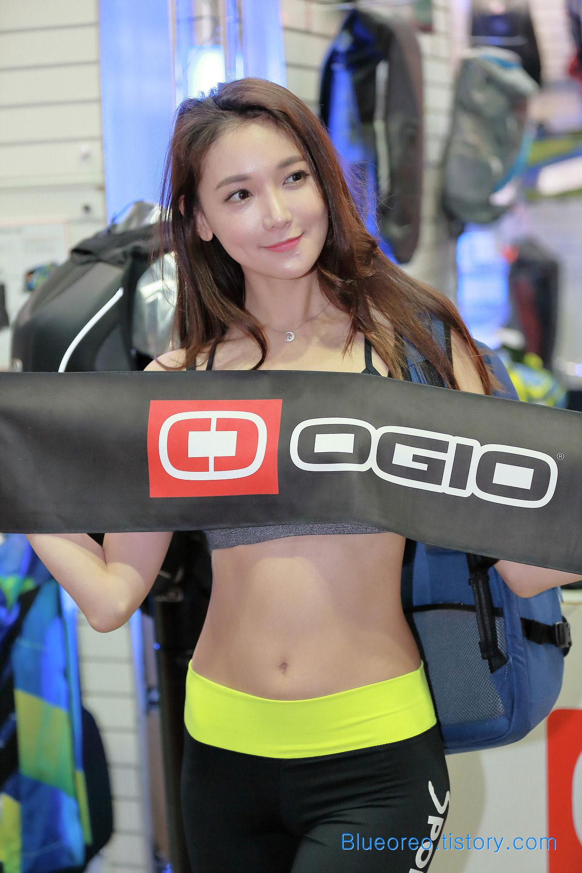Moon Ga Kyung SPOEX sports show 2015