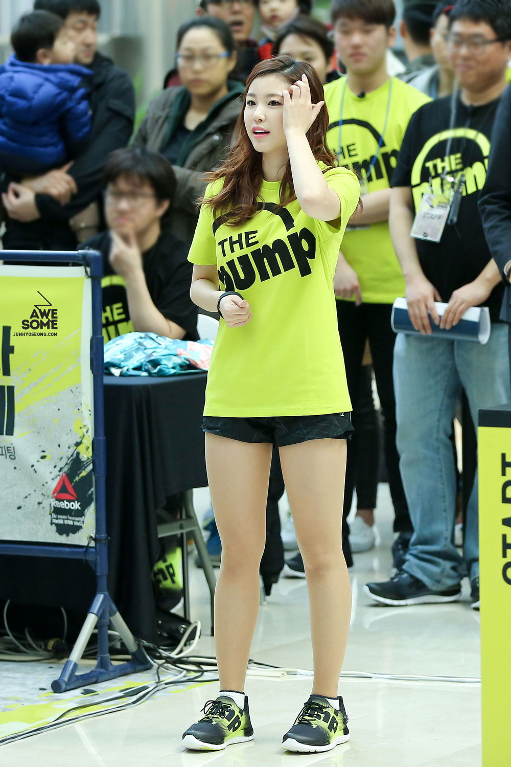 Secret Hyoseong Reebok ZPump Run Challenge