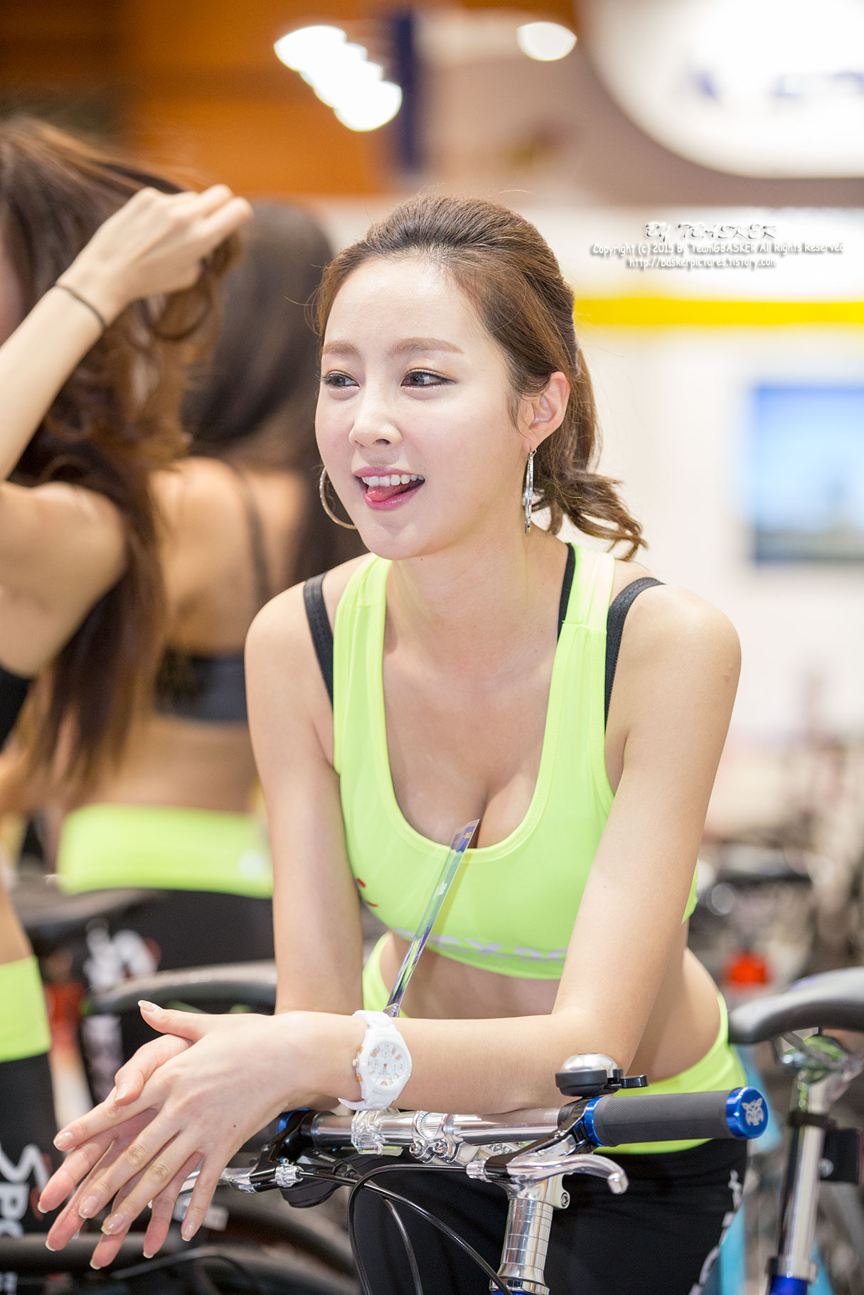 Eun Bin Seoul Sports Leisure Industry Show 2015