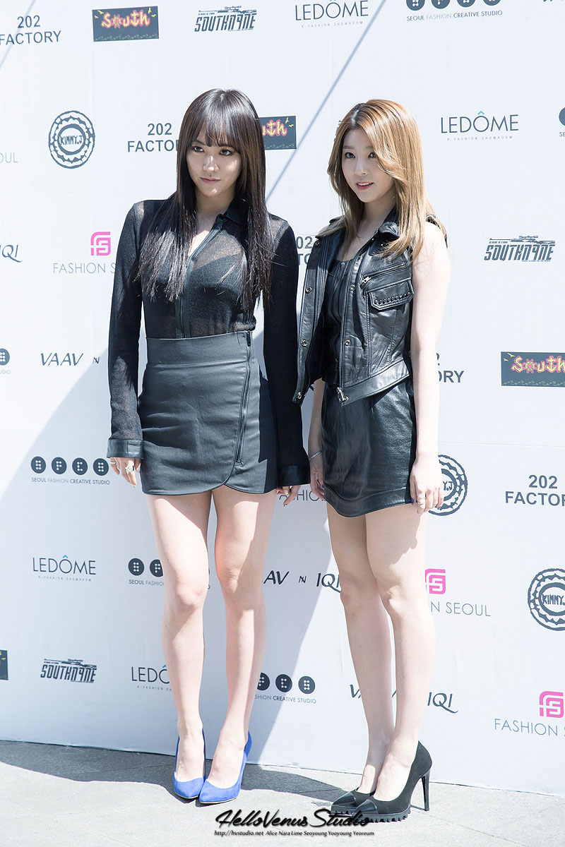 Hello Venus Lime Seoul Fashion Week 2015 KimmyJ