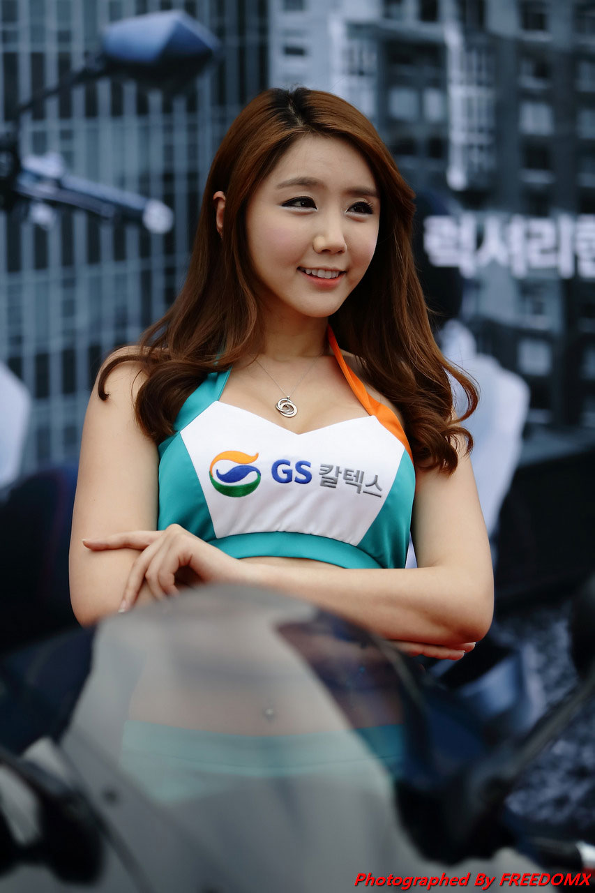 Kim Ha Eum Korea Scooter Race 2014 GS Caltex