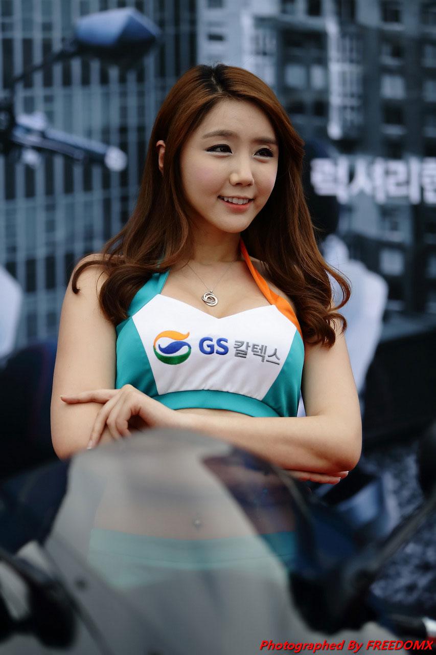 Kim Ha Eum Korea Scooter Race 2014 GS Caltex