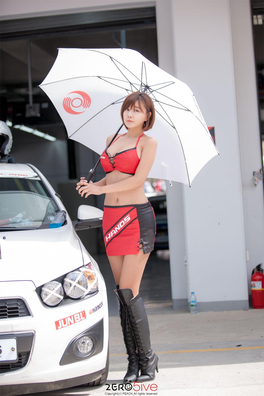 Ryu Ji Hye Hands Motorsport Festival 2015 R1