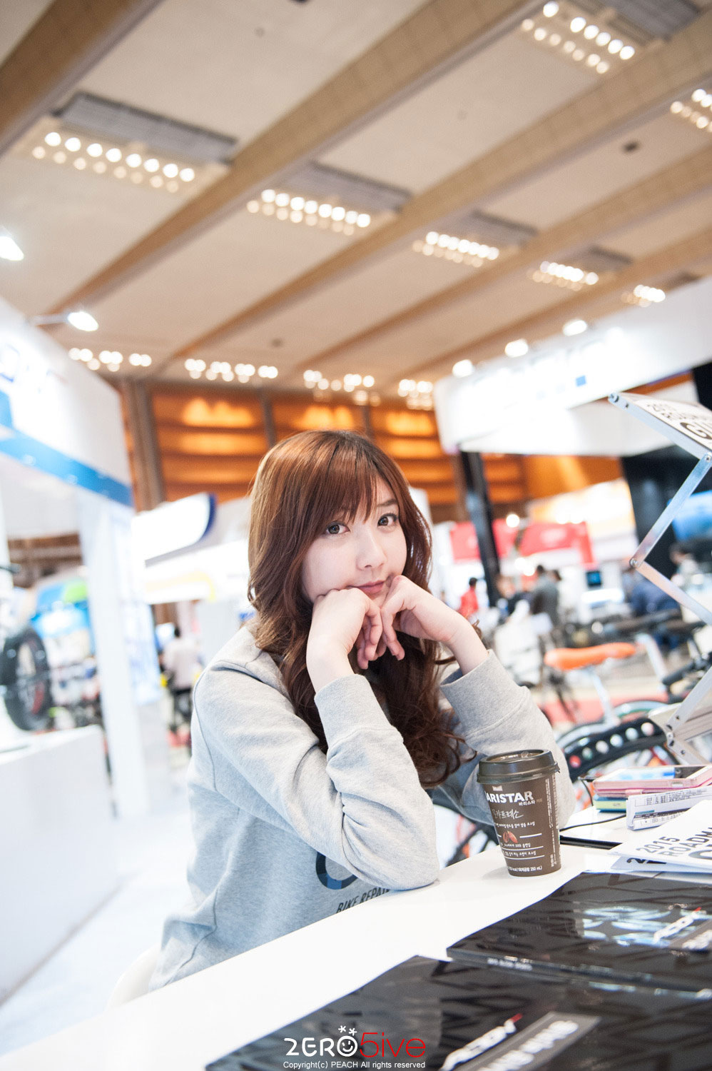 Seo Da-In SPOEX 2015 Bike Repair Shop