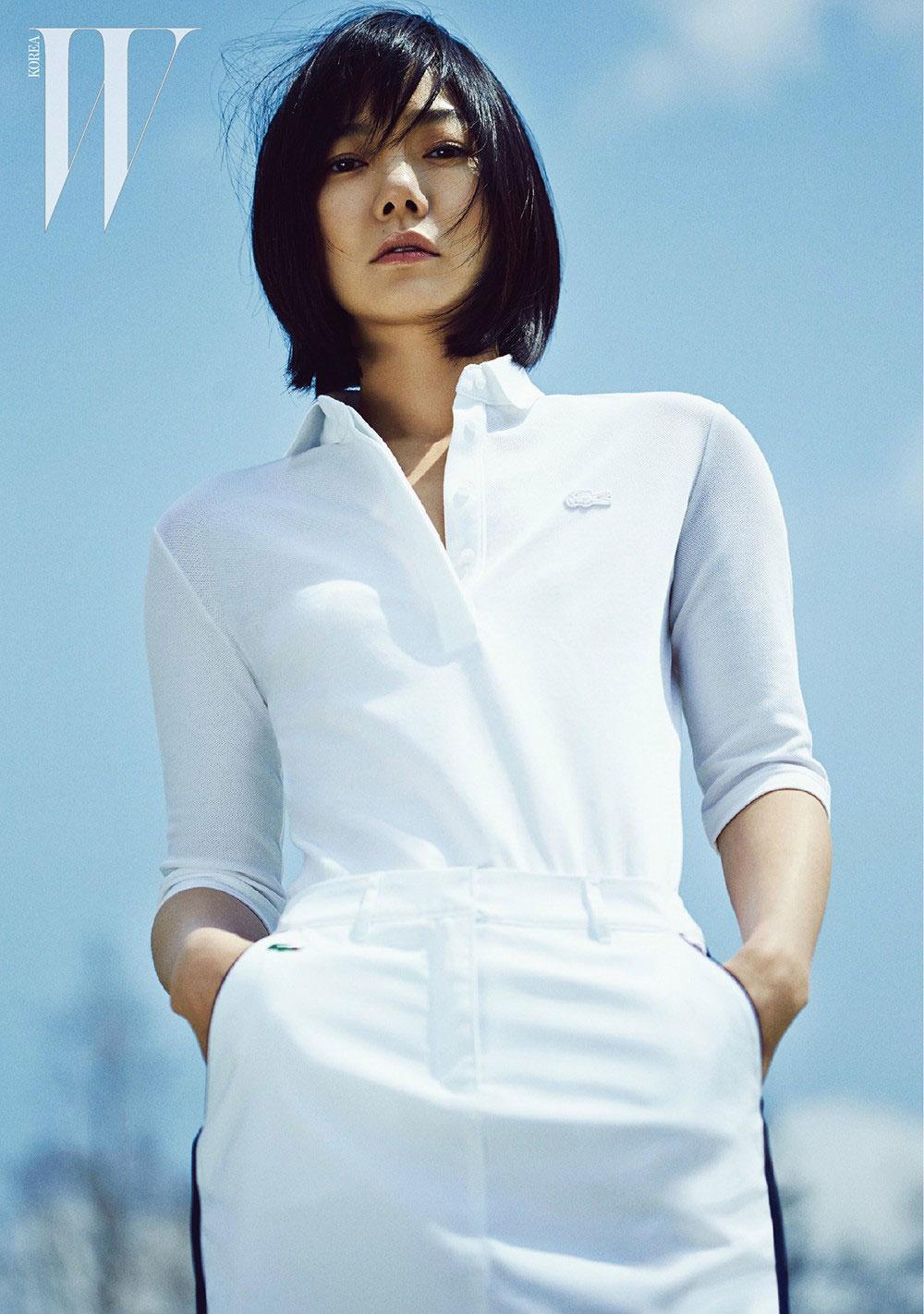 Bae Doona Lacoste W Magazine
