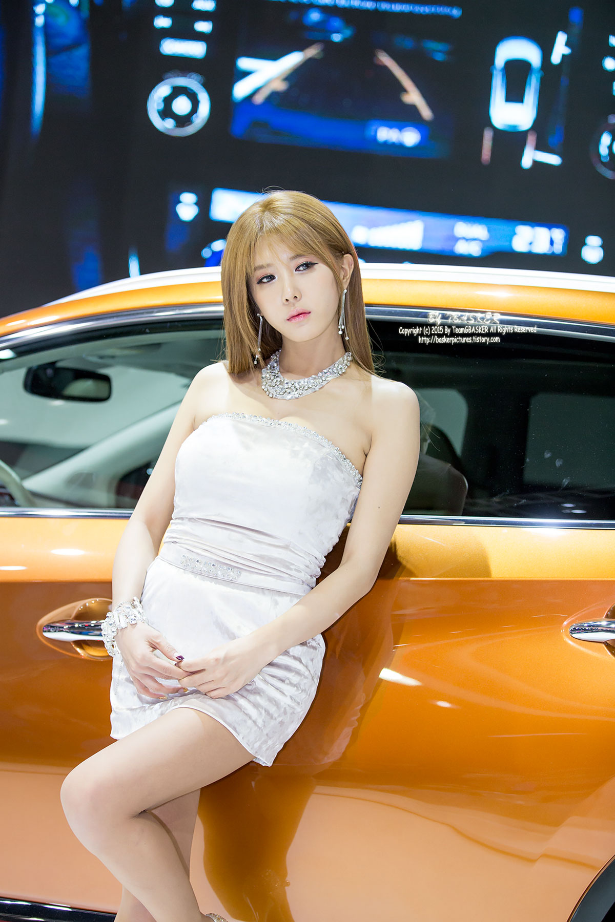 Heo Yoon Mi Seoul Motor Show 2015 Nissan