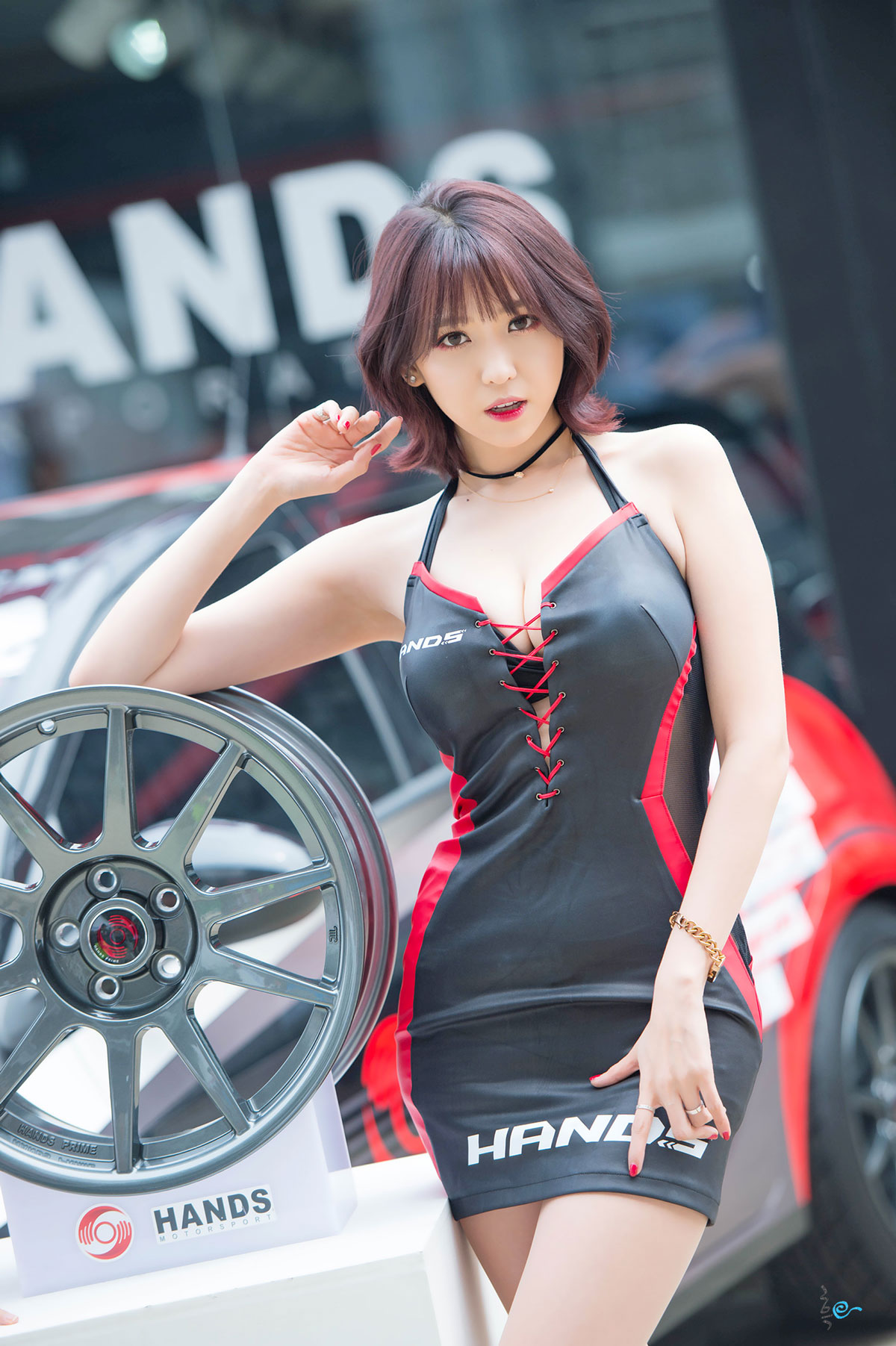 Lee Eun Hye Asian Festival of Speed 2015 Hands Motorsport