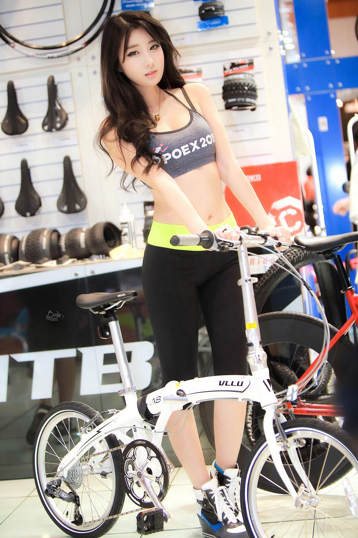 Shin Se Ha Seoul Sports Leisure Show 2015