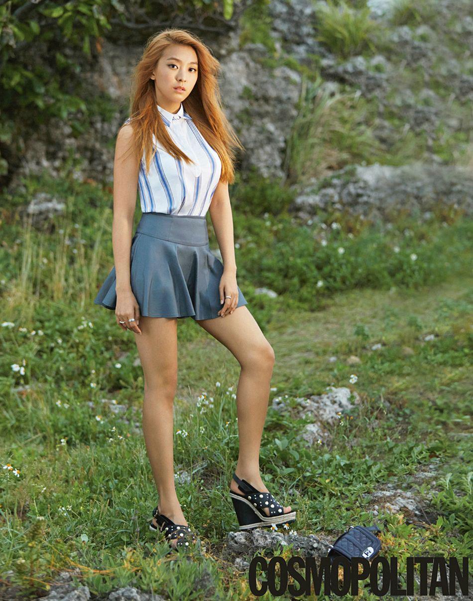 Sistar Bora Korean Cosmopolitan Magazine