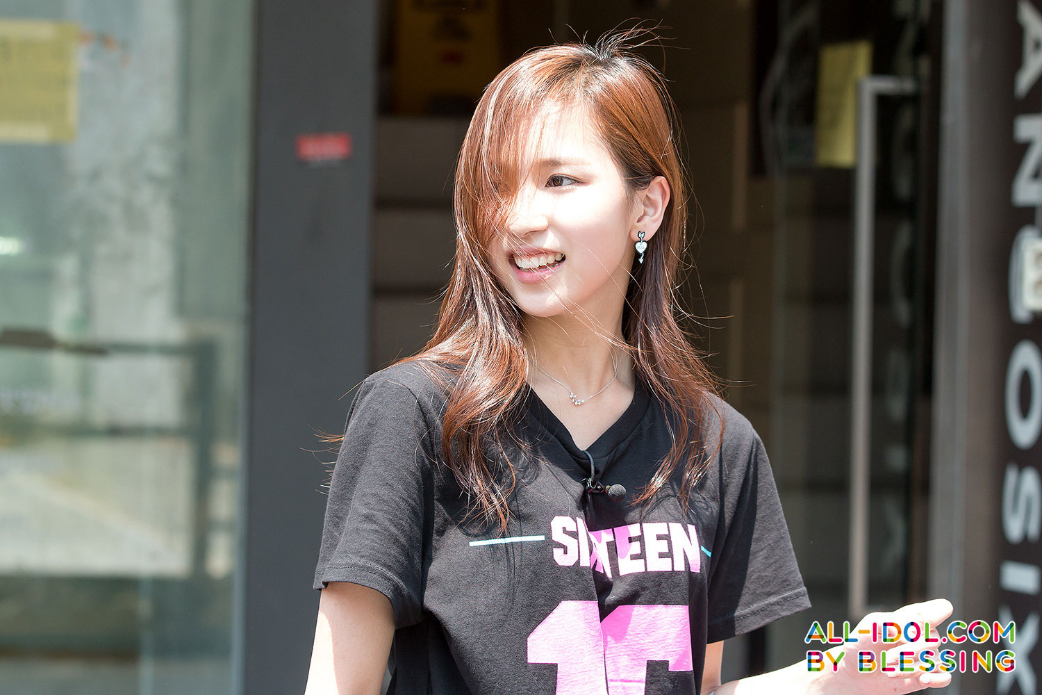 Twice Sixteen Mina street promotion event