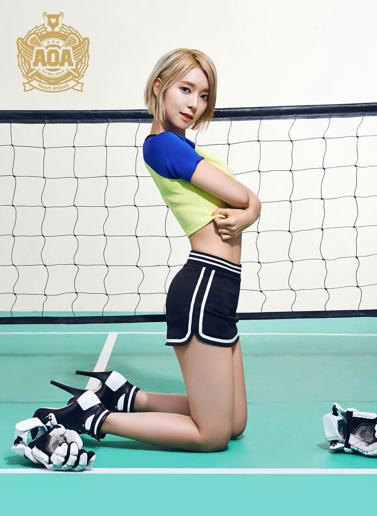 AOA Choa Heart Attack Korean mini album