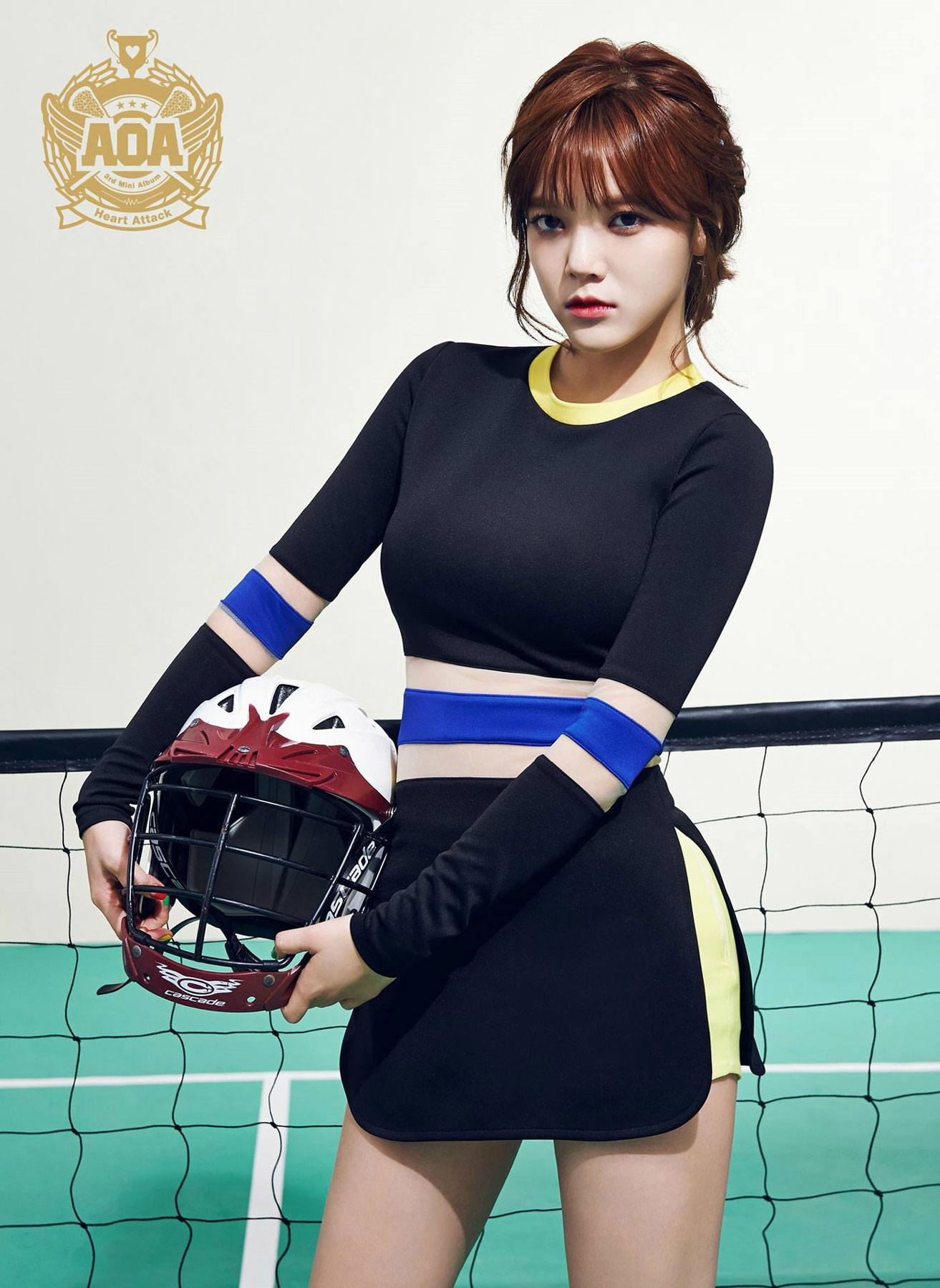 AOA Jimin Heart Attack Korean mini album