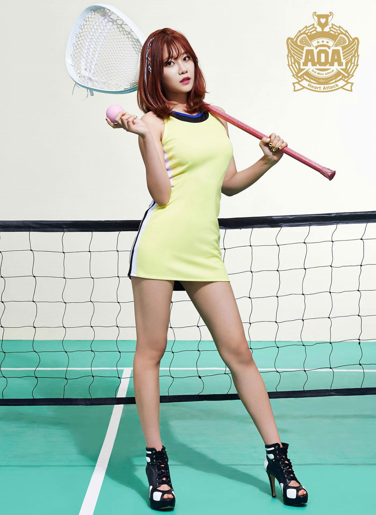 AOA Yuna Heart Attack Korean mini album