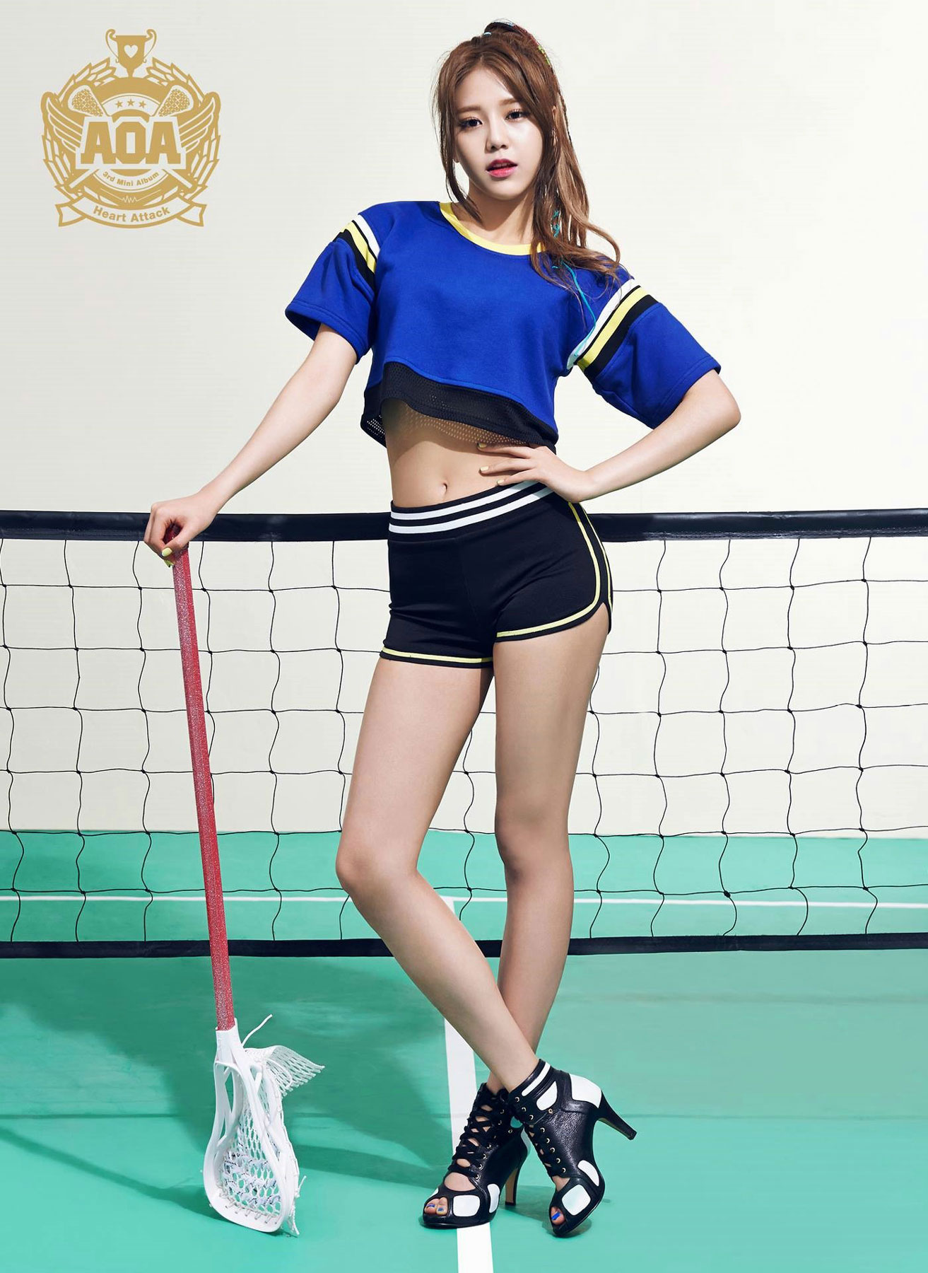 AOA Hyejeong Heart Attack Korean mini album