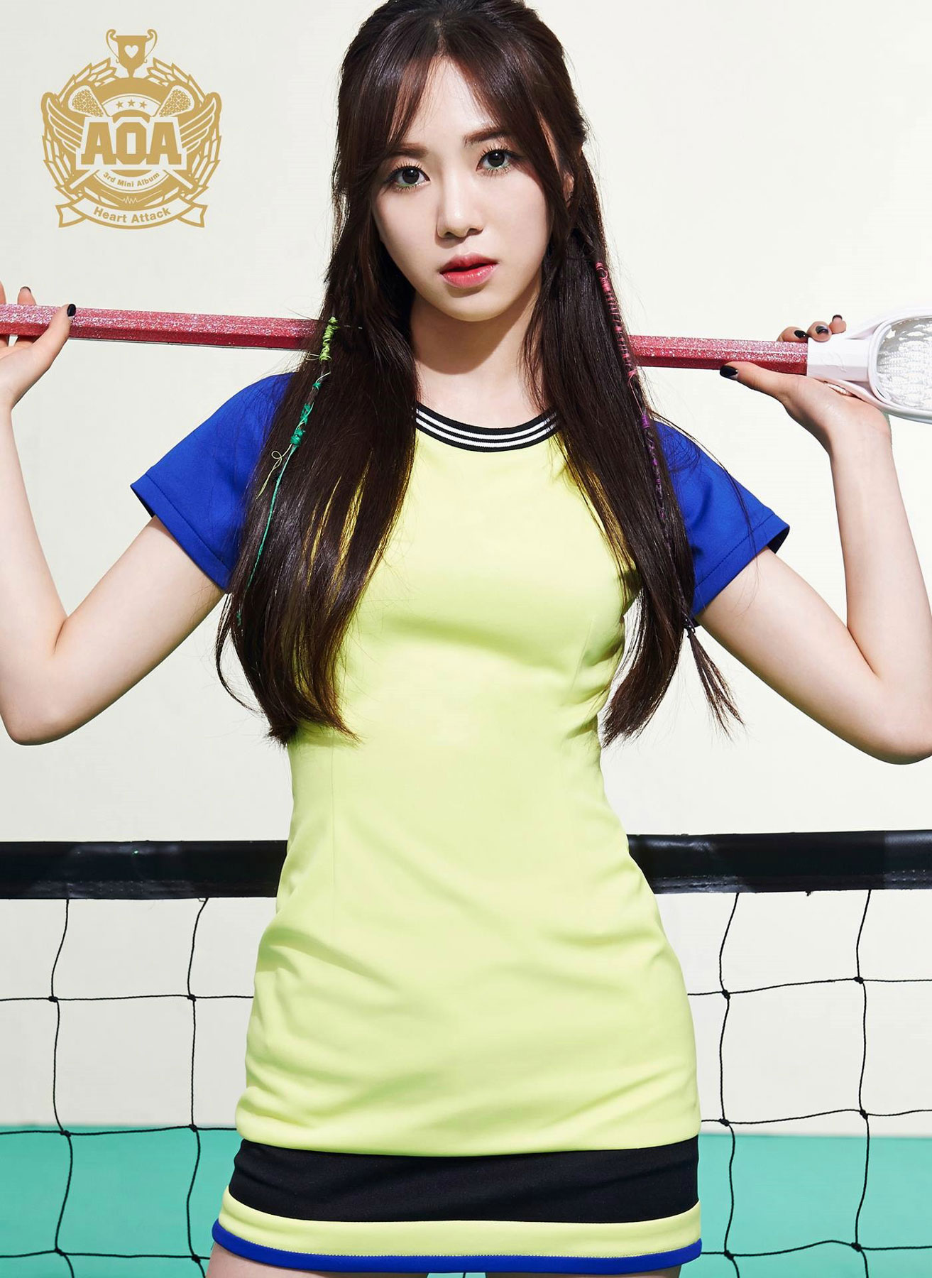 AOA Mina Heart Attack Korean mini album