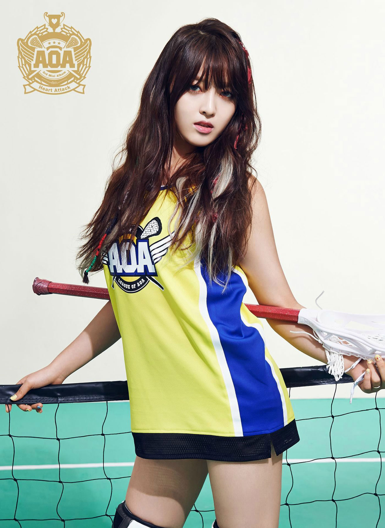 AOA Chanmi Heart Attack Korean mini album