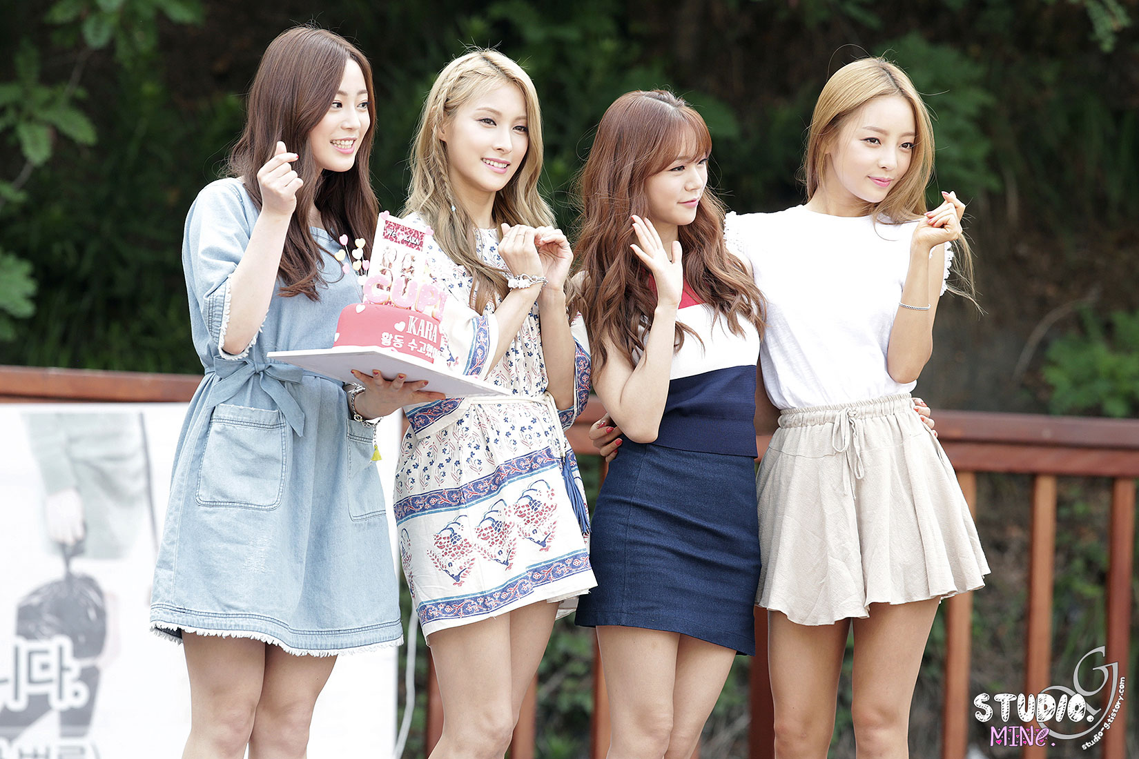 KARA In Love Korean mini fan meeting event