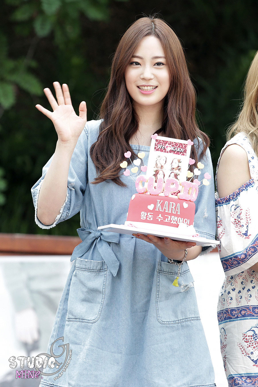 KARA Youngji Cupid mini fan meeting event