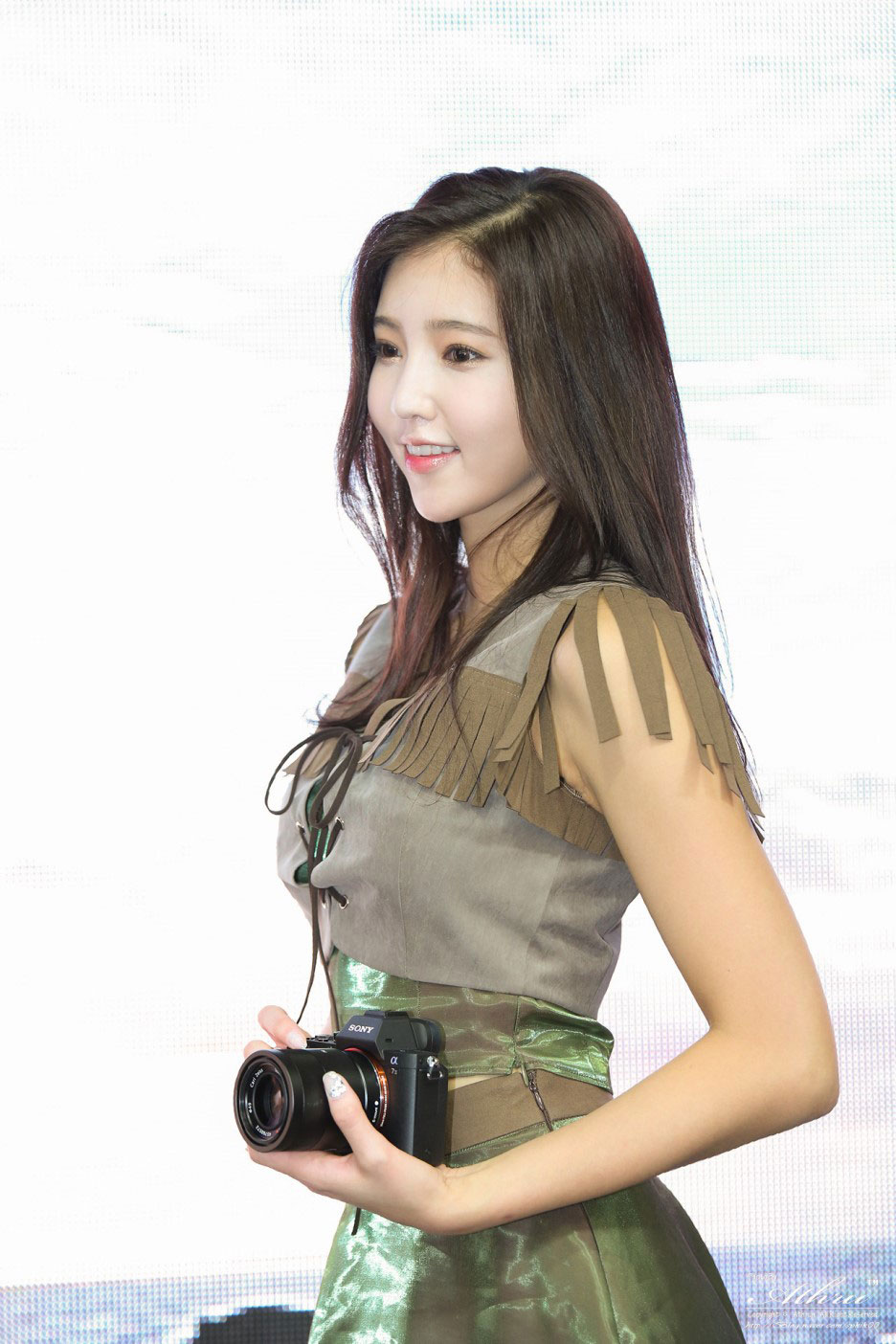Kim Bo Ra Photo Imaging Industry Show 2015