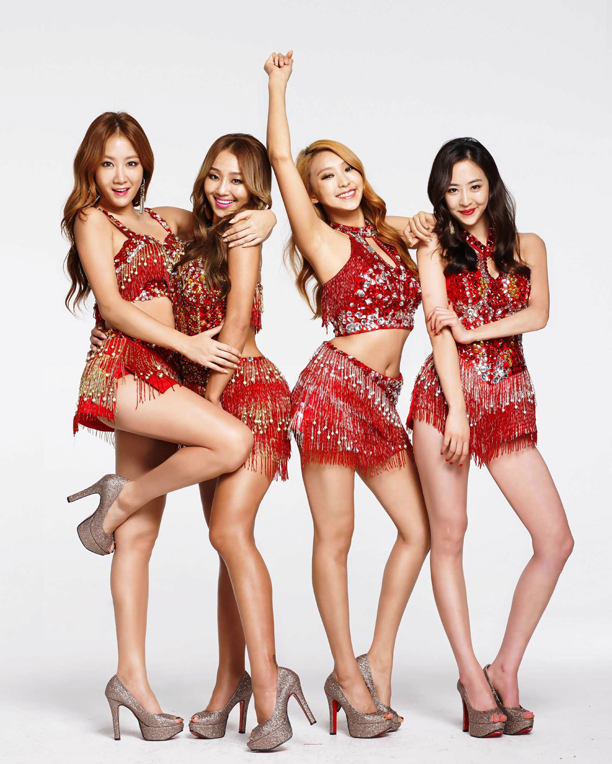 Sistar Coca Cola Mate Tea smartphone wallpaper