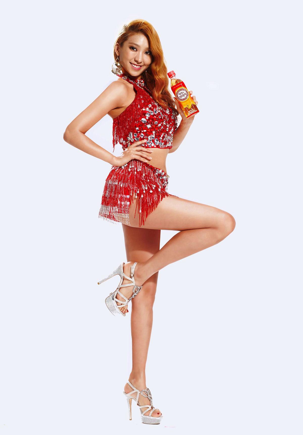 Sistar Bora Coca Cola Mate Tea wallpaper