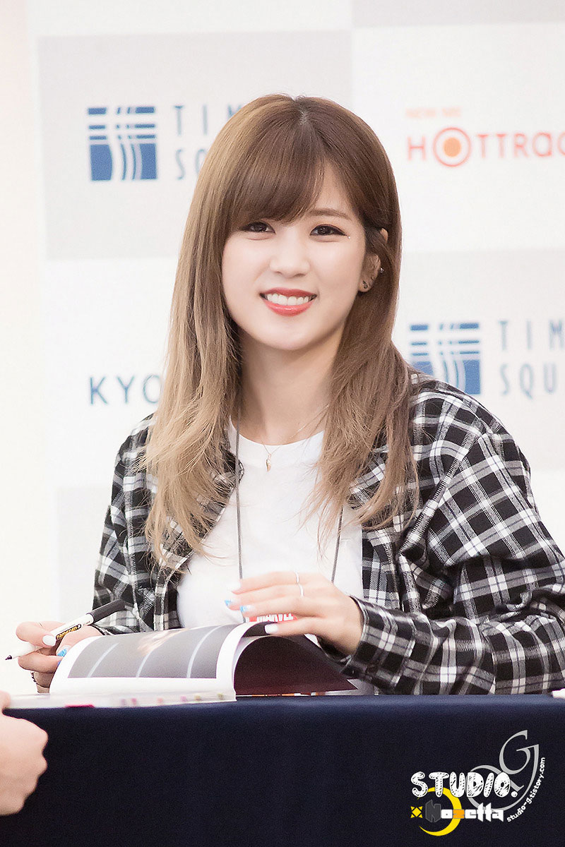 Apink Chorong Pink Memory fansign event