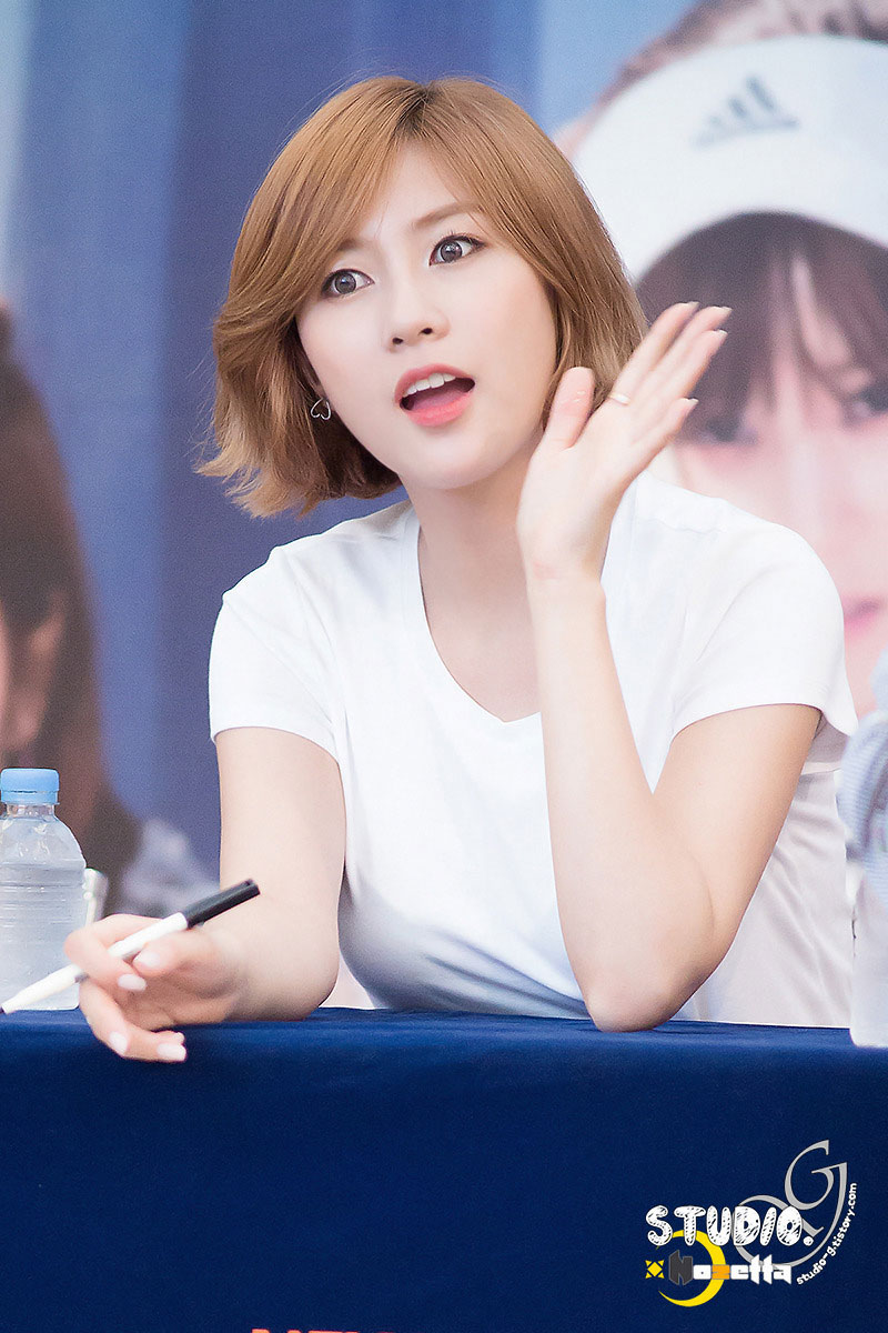Apink Hayoung Pink Memory fansign event