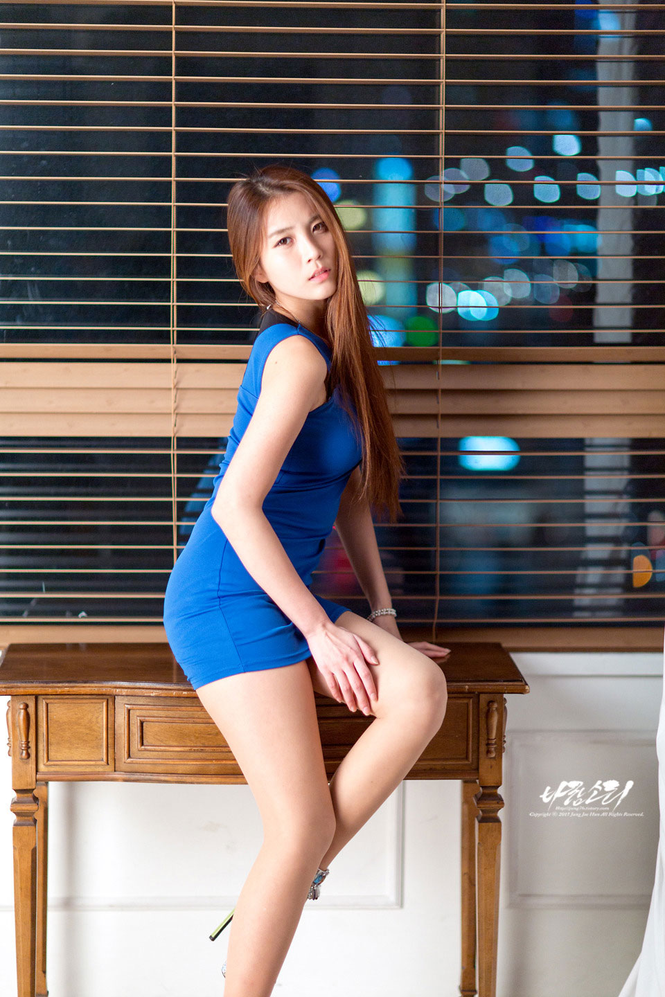 Model Cha Jung Ah studio photoshoot