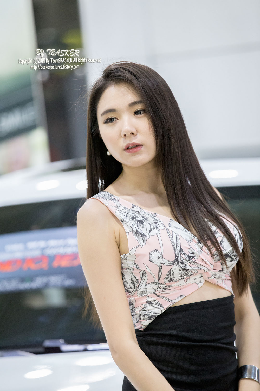 Min Yu Rin Seoul Auto Salon 2015 dashcam