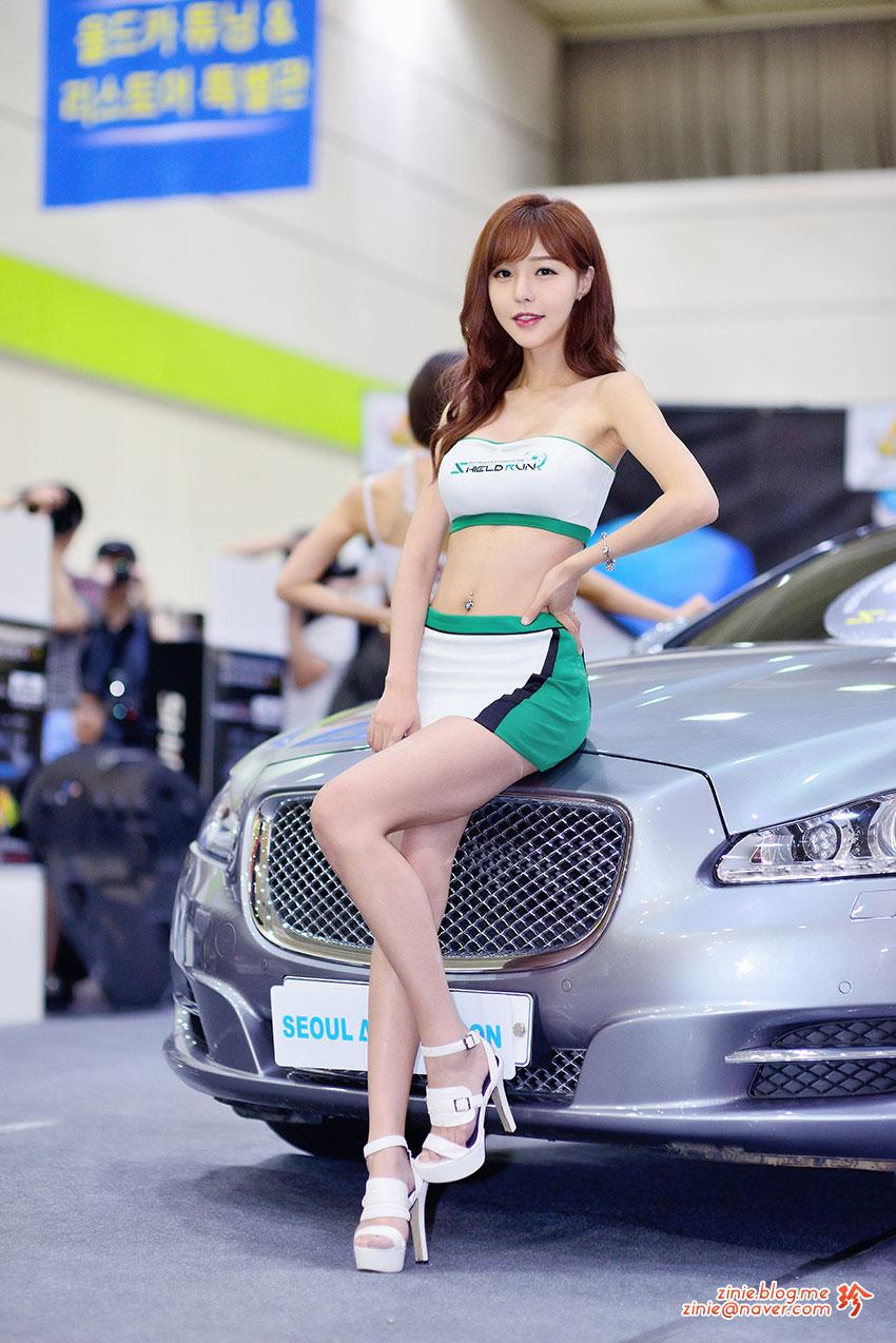 Seo Jin Ah Seoul Auto Salon 2015 Shieldrun