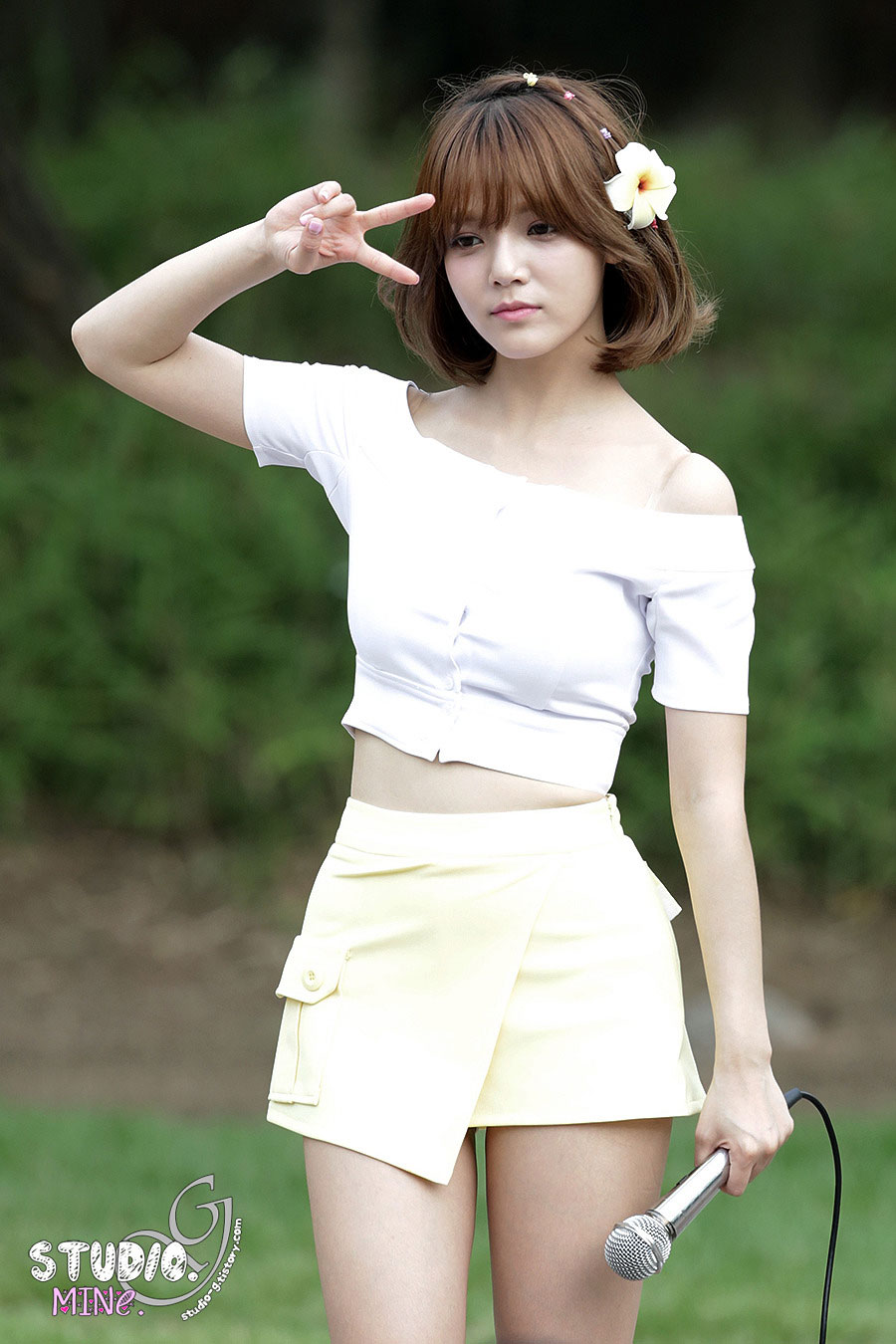 AOA Jimin Heart Attack fan meeting event