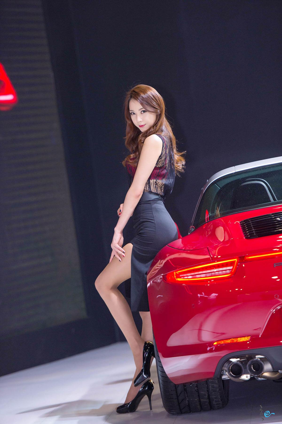 Ju Da Ha Seoul Motor Show 2015 Porsche