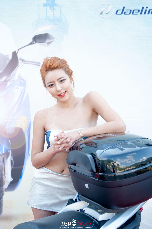 Kim Ah Bin Korea Scooter Race 2015 Daelim Motor