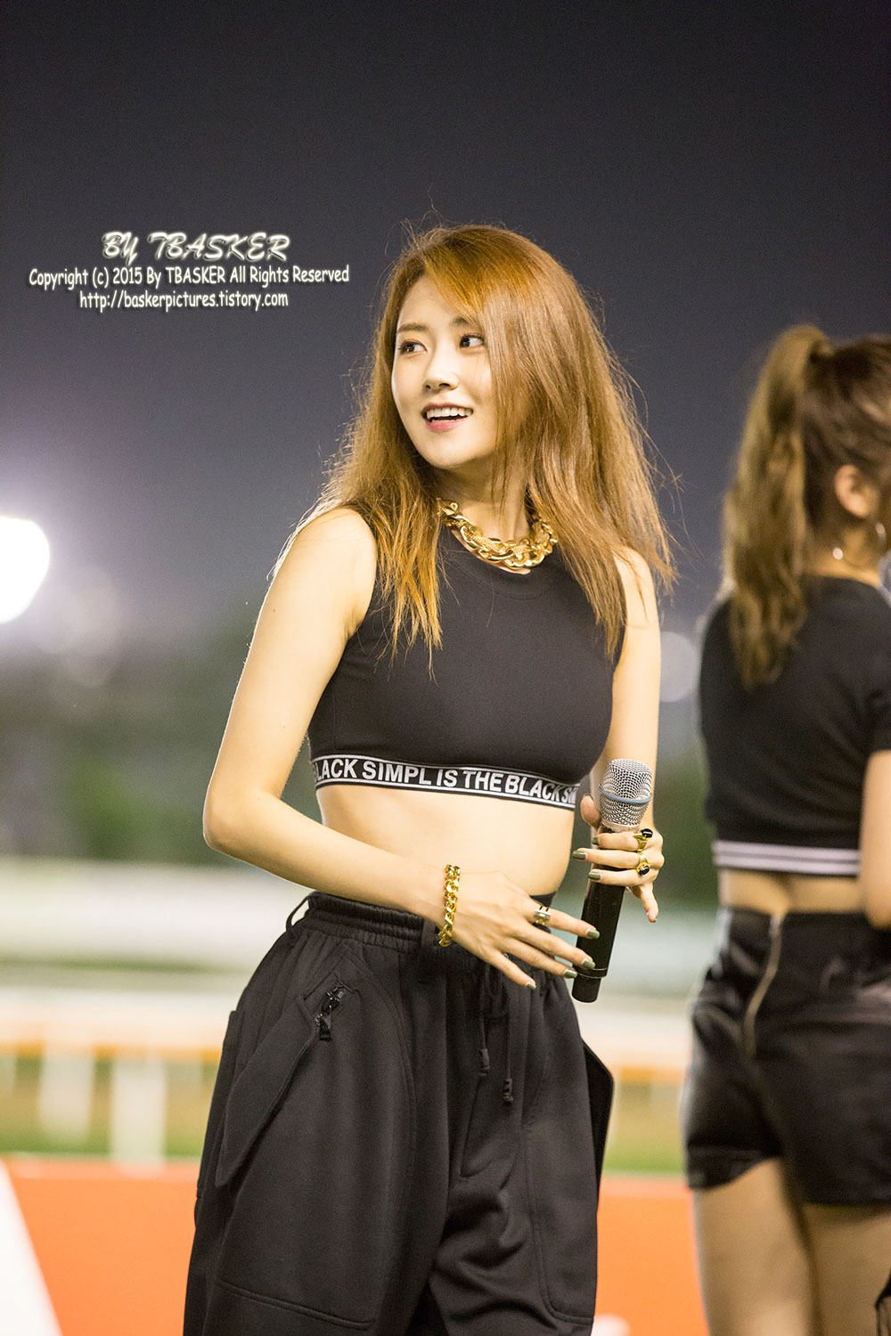 4Minute Gayoon Lets Run Park Concert