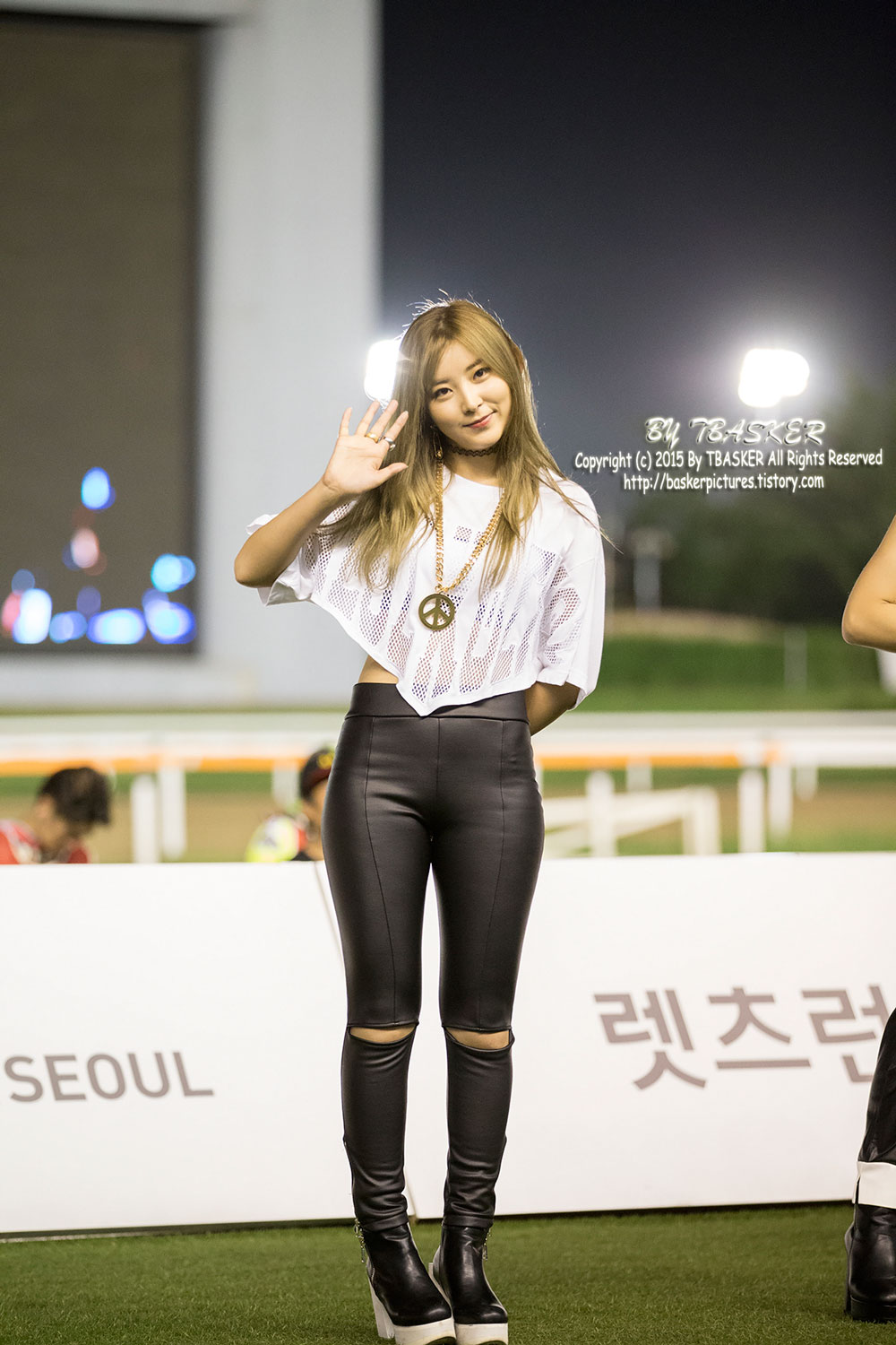 4Minute Sohyun Lets Run Park Concert