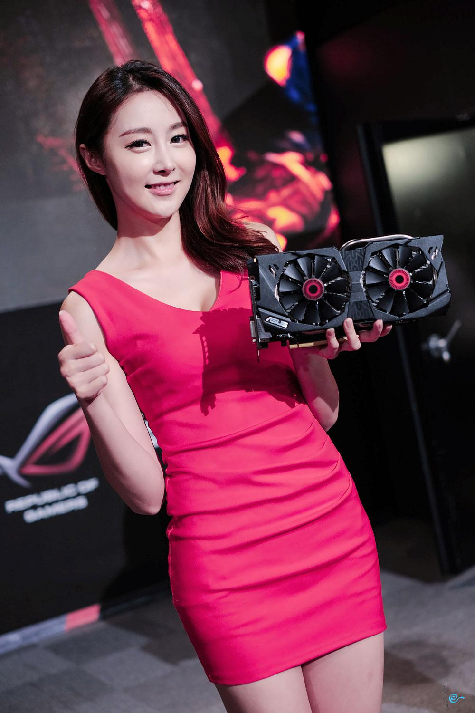 Eun Bin Korean ASUS promotion event