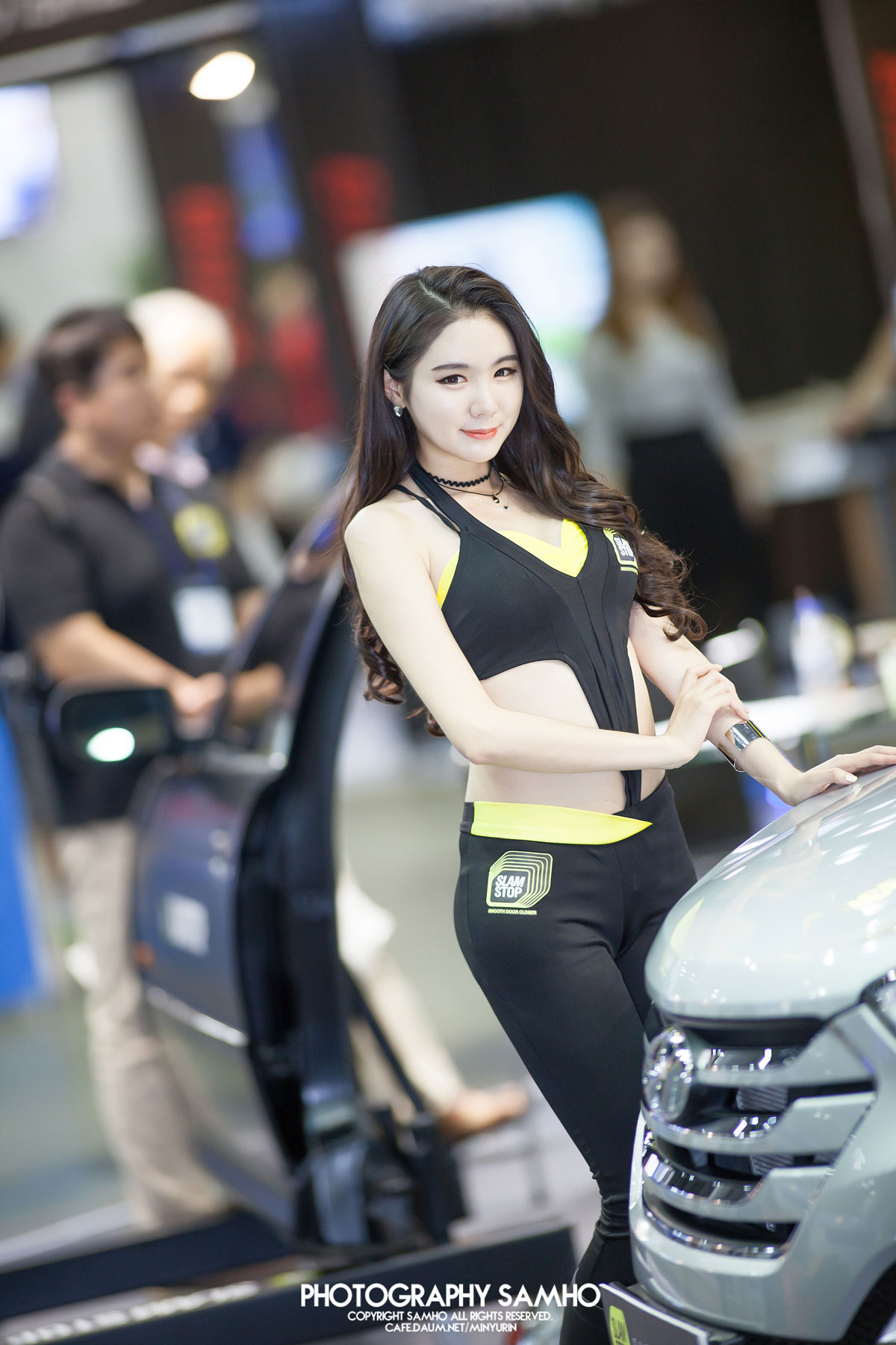 Min Yu Rin Automotive Week 2015 SLAMSTOP