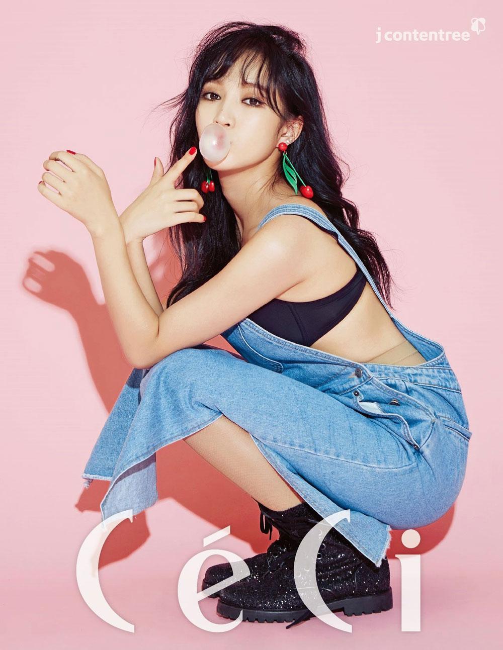Meng Jia Korean CeCi Magazine