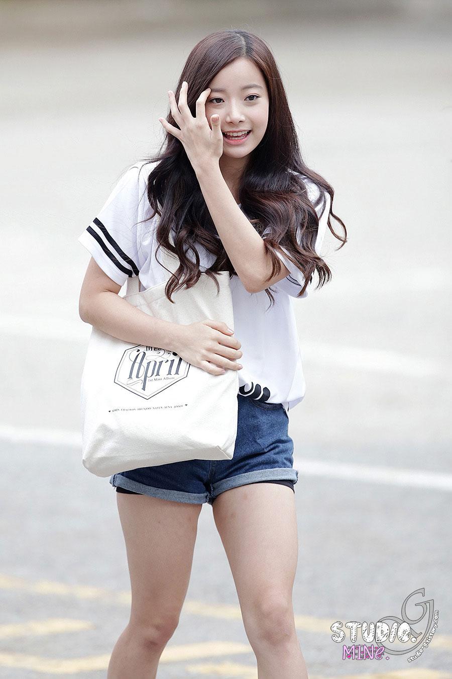 April Hyunjoo Music Bank Dreaming