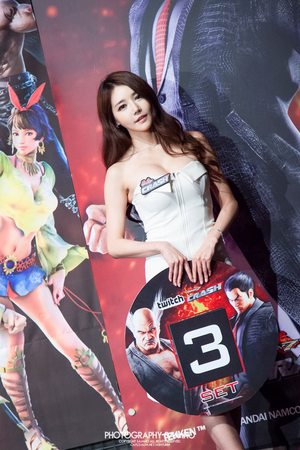 Han Ga Eun Twitch Tekken Crash Tournament