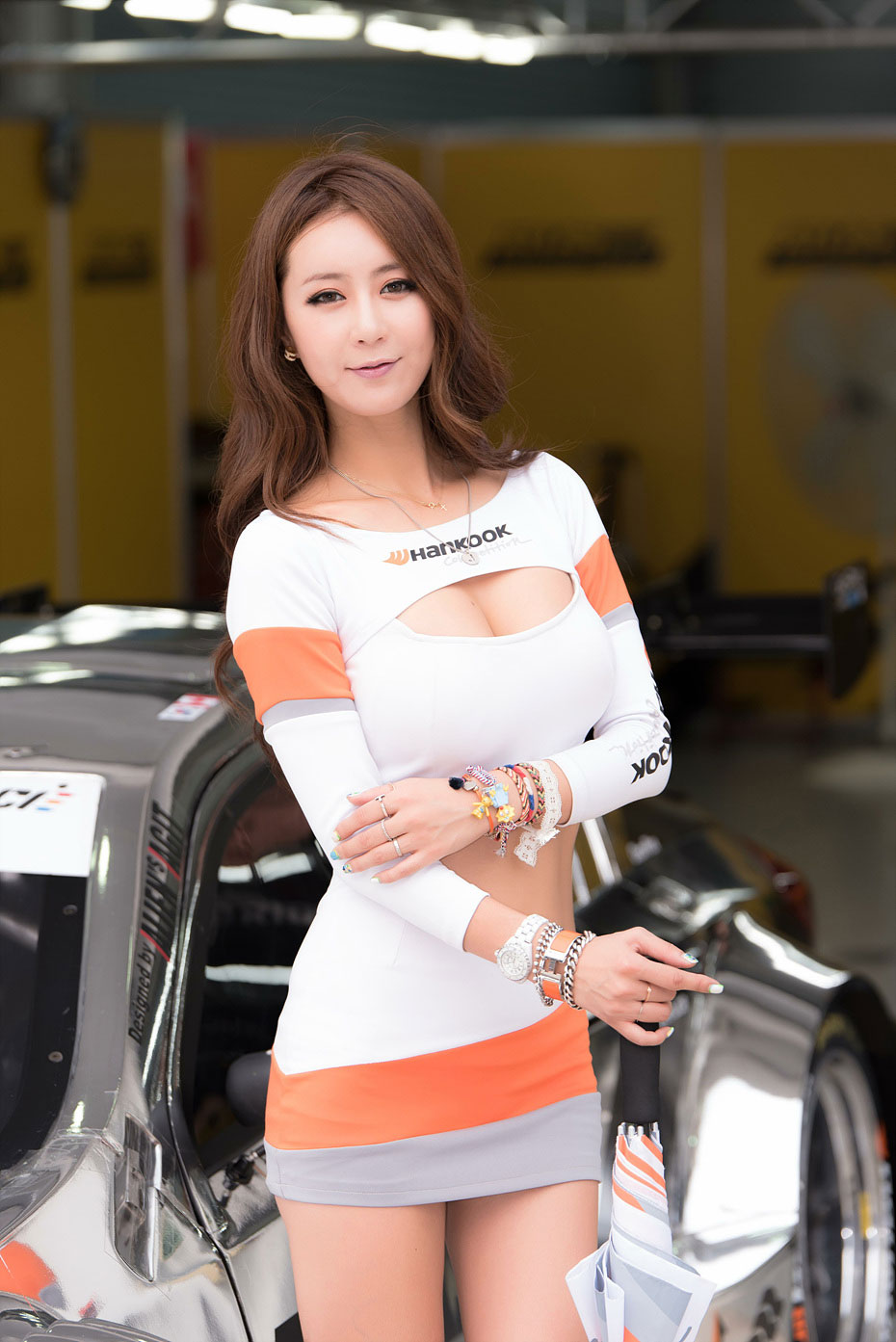 Jung Joo Mi CJ Super Race 2015 Hankook