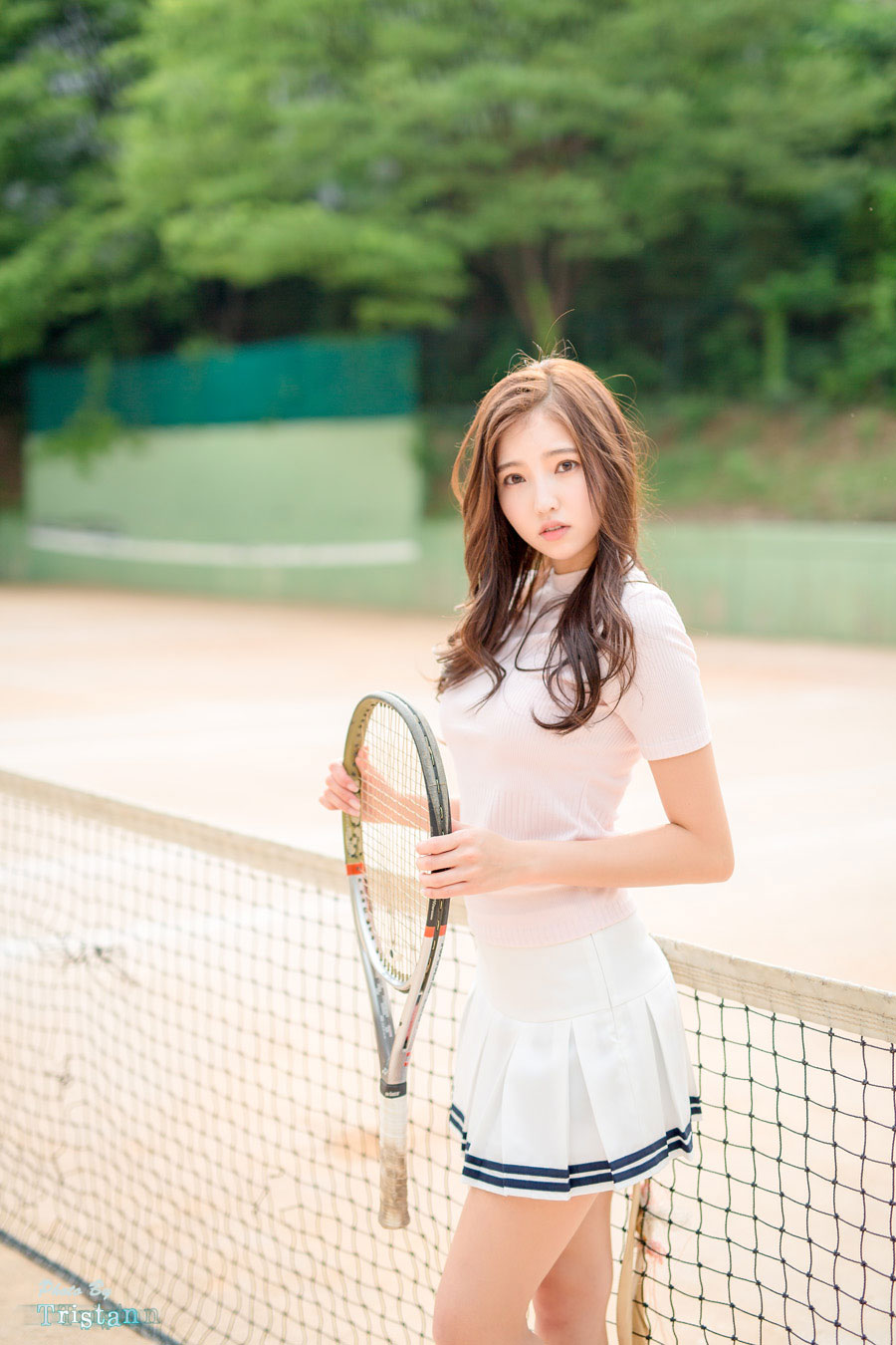 Korean model Kim Bo Ra tennis photoshoot