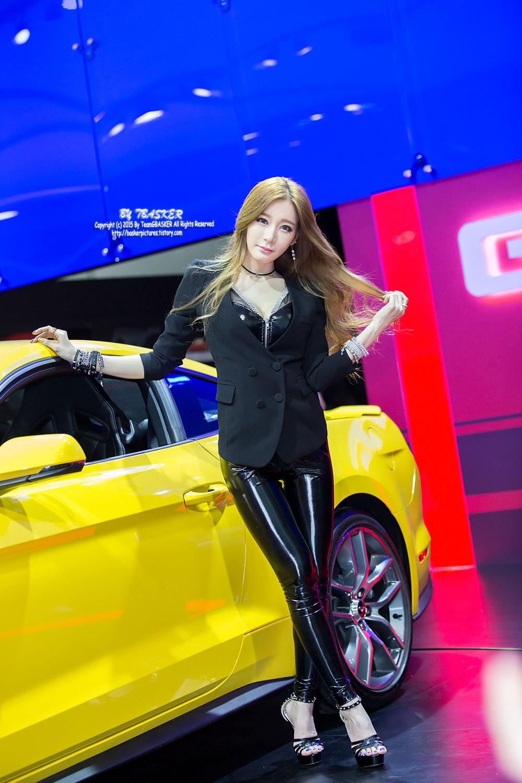 Han Ji Eun Seoul Motor Show 2015 Ford Lincoln