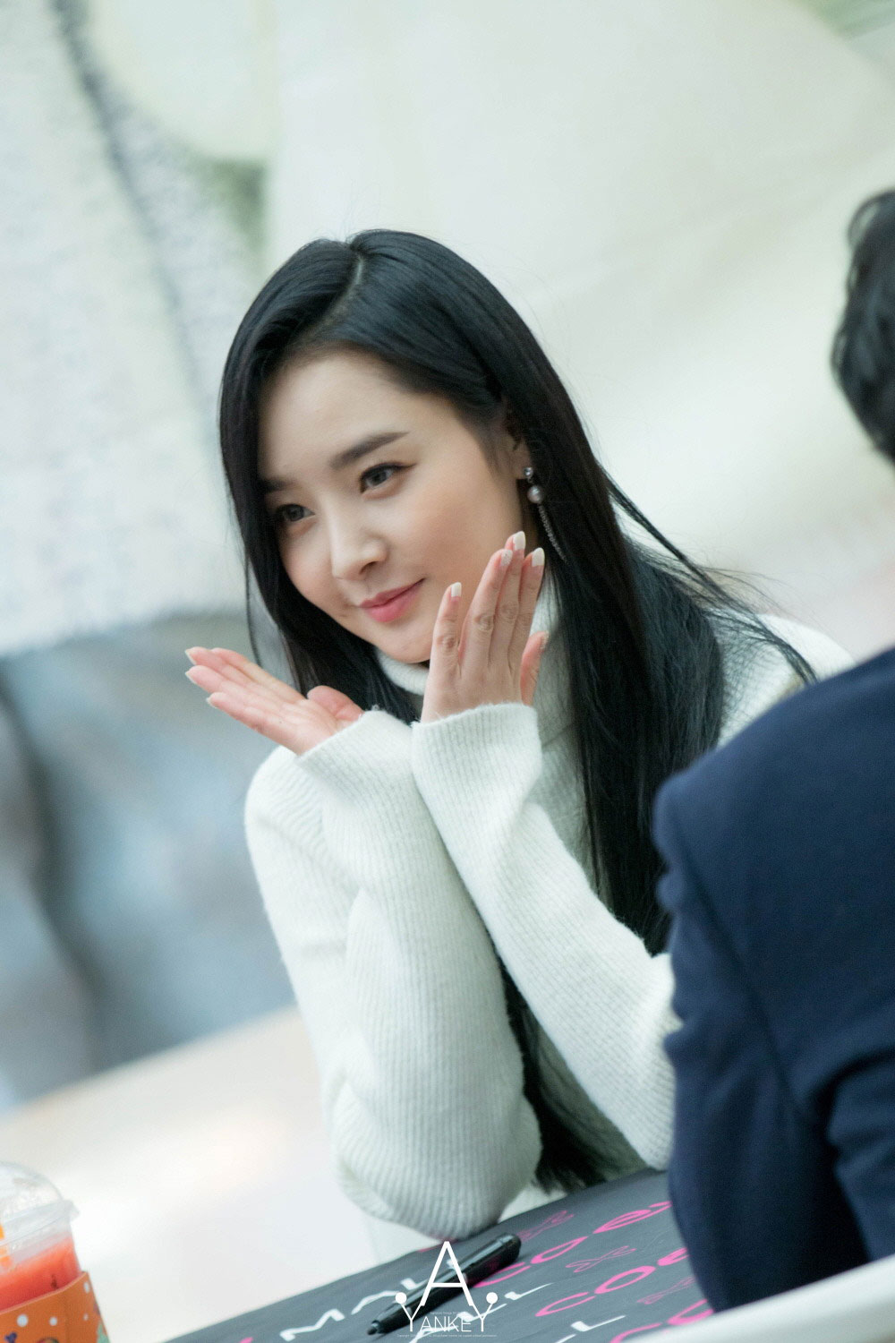 Dal Shabet Woohee Naturalness fan signing event