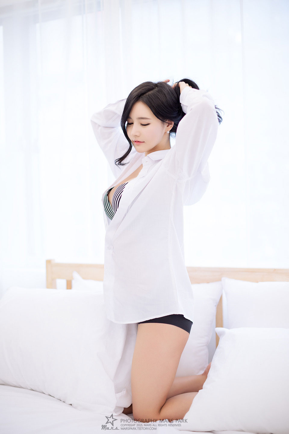 Model Kang Ye Bin portrait photoshoot