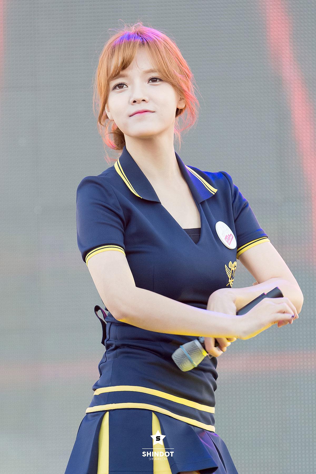 AOA Jimin Samsung Play The Challenge Concert