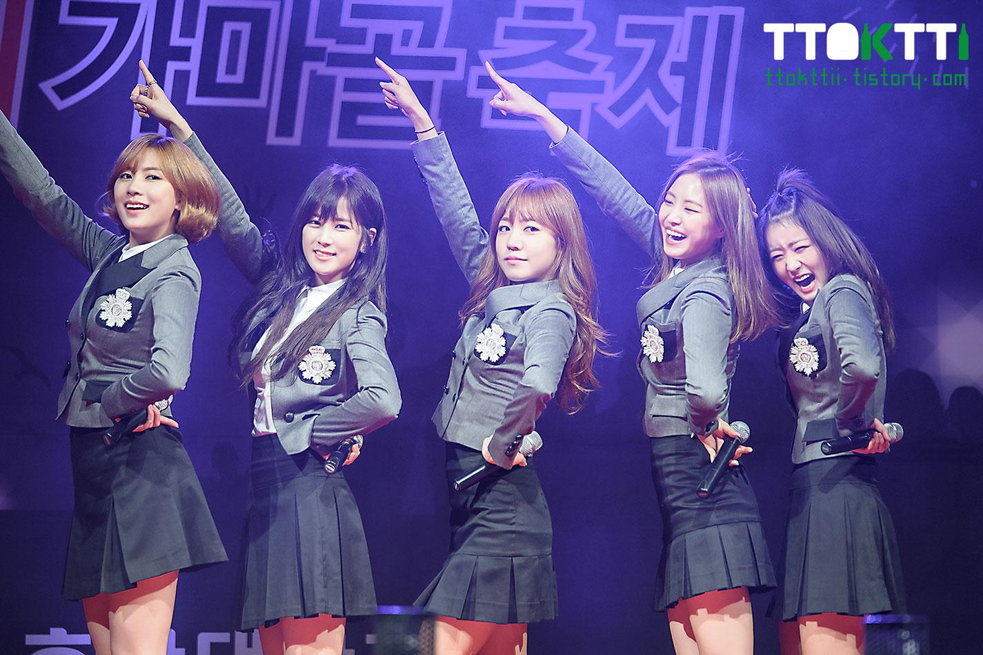 A Pink Chorong Hosan University Music Festival