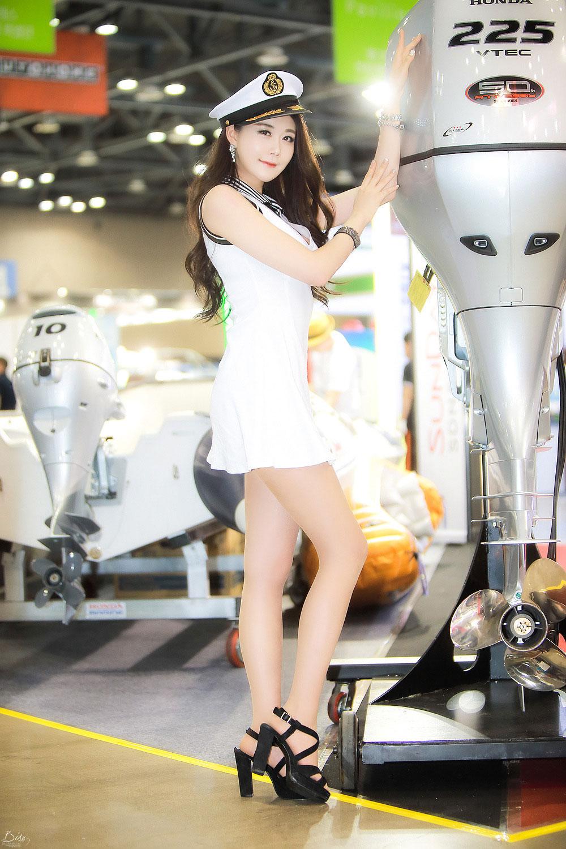 Eun Ha Young Korea International Boat Show 2015