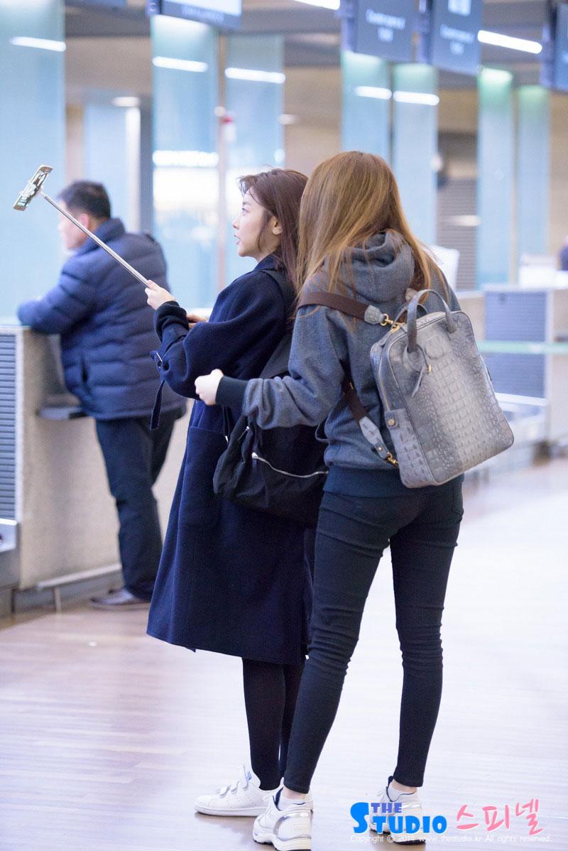 Girls Day Sojin Incheon Airport to Cambodia