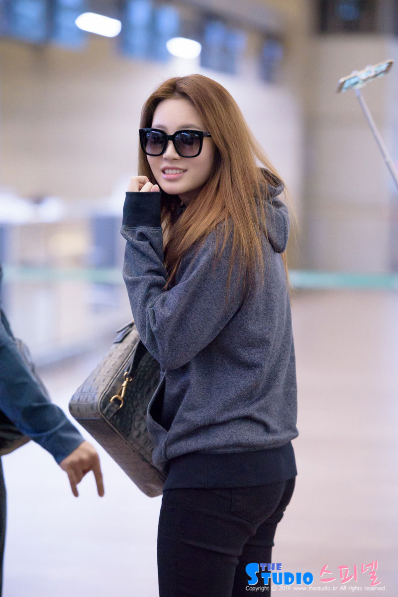 Girls Day Yura Incheon Airport to Cambodia